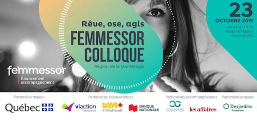 Colloque Femmessor | Région de la Montérégie