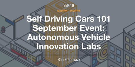 Autonomous Vehicles Innovation Labs Showcase tickets