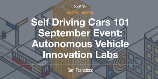 Autonomous Vehicles Innovation Labs Showcase