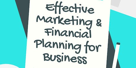 Effective Marketing & Financial Planning for Business tickets