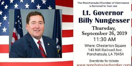 Lt. Governor Billy Nungesser