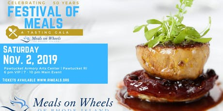 Festival of Meals: Celebrating 50 Years of Meals on Wheels of RI tickets