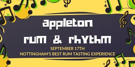 Appleton Rum & Rhythm - Rum Tasting Experience tickets