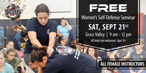 FREE Self Defense Seminar Grass Valley