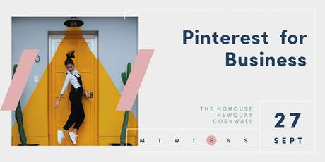 Pinterest for Business Workshop tickets