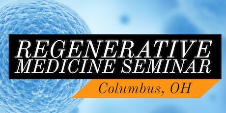 FREE Regenerative Medicine & Stem Cell For Pain Lunch/Dinner Seminar - Columbus, OH tickets