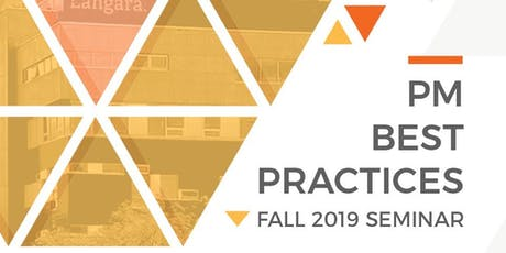 PMC 2019 Fall Seminar - Project Management Best Practices tickets