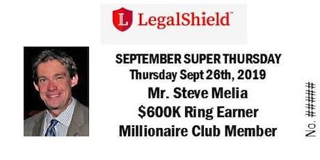 LegalShield Ontario, Canada Super Thursday - September 26, 2019 tickets