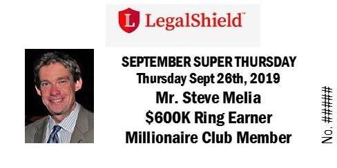 LegalShield Ontario, Canada Super Thursday - September 26, 2019