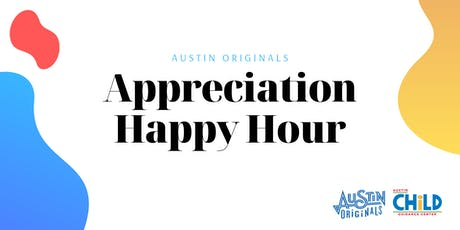 Appreciation Happy Hour for Austin Originals tickets
