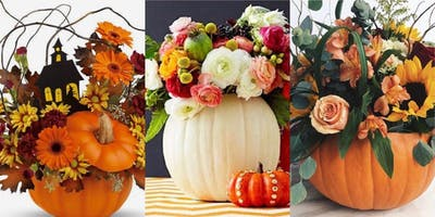 Fun Autumnal Flower Workshop