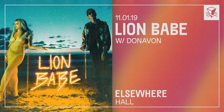 Lion Babe @ Elsewhere (Hall) tickets