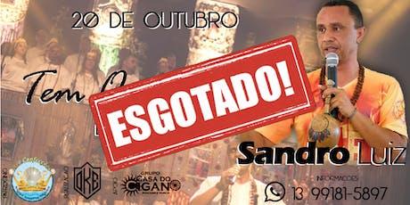 Show Sandro Luiz em Santos ingressos