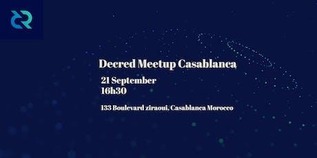 Decred Meetup Casablanca Tickets