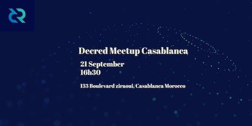 Decred Meetup Casablanca