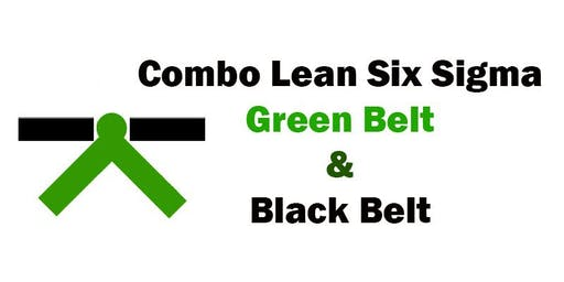 Combo Lean Six Sigma Green Belt and Black Belt Certification Training in Des Moines, IA