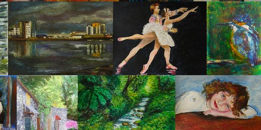 Copy of Painting for Pleasure - 2 Day Weekend Workshop