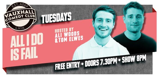 AIDIF TUESDAYS - WITH TOM ELWES & ALI WOODS