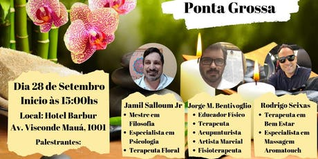 1º Workshop de Terapias Integrativas - Ponta Grossa/PR tickets