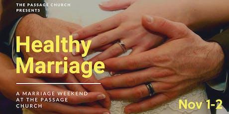 Marriage Weekend tickets