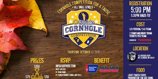 Cornhole Competition For A Cause