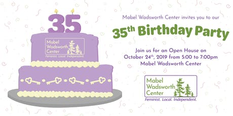 35th Birthday Party Open House tickets