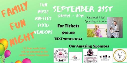 Family Fun Night Fundraiser Event