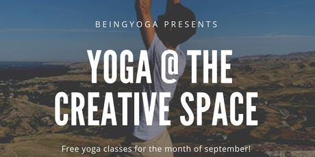 Yoga @ The Creative Space tickets