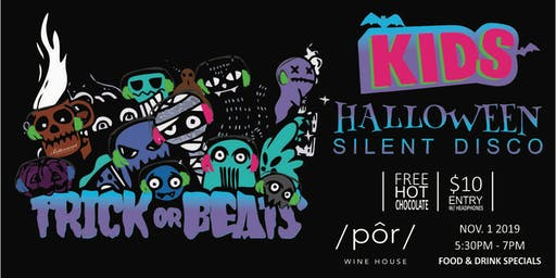 (KIDS) Trick or Beats - Halloween Party & Silent Disco