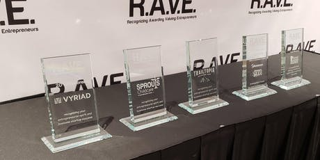 R.A.V.E. (Recognizing Awarding Valuing Entrepreneurs) tickets