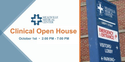 Meadville Medical Center Clinical Open House