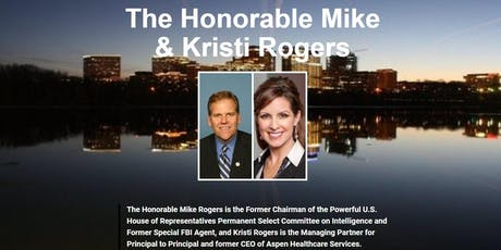 National & Cyber Security Reception with The Honorable Mike & Kristi Rogers tickets