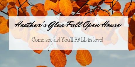 Heather's Glen Fall-in-Love Open House tickets