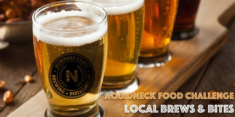 Local Brews & Bites - The Food Challenge! tickets