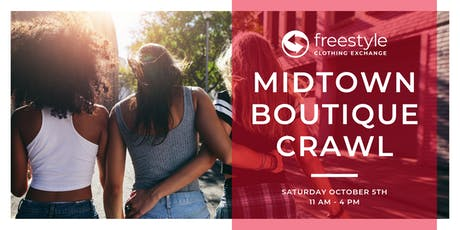 Midtown Boutique Crawl tickets