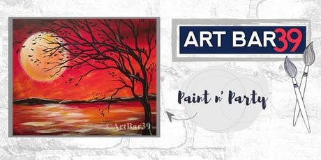 Paint & Sip | ART BAR 39 | Public Event | Autumn Moon tickets
