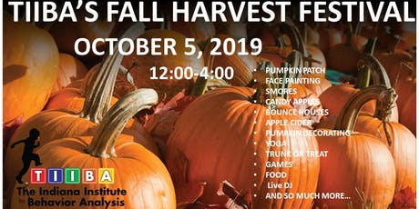 The Indiana Institute for Behavior Analysis  Fall Harvest Festival tickets