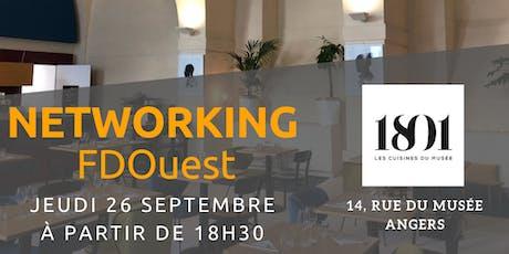 Soirée Networking FDOuest au Café 1801 - Les Cuisines du Musée billets