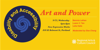 Art & Power: Disability and Accessibility