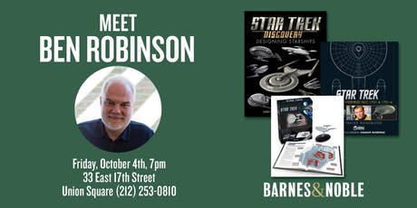 Meet Ben Robinson at Barnes & Noble Union Square tickets