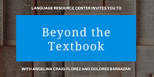 "LRC Invited Guest Speaker Talks:  ""Beyond the Textbook"""