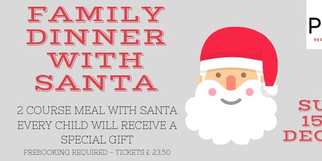 Dinner with Santa tickets