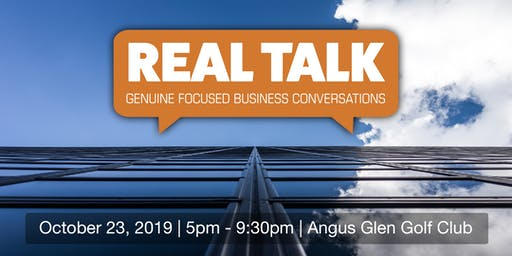 Real Talk - Genuine Focused Business Conversations