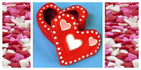Parent & Child Create Night- Valentine's Day Craft (5-12 Years) tickets