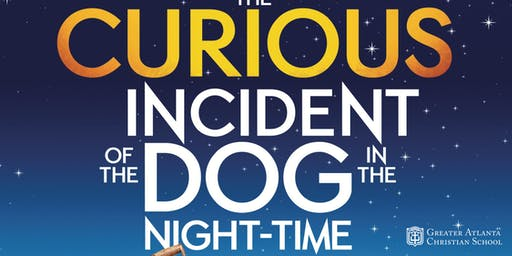 The Curious Incident of the Dog in the Night Time - Saturday