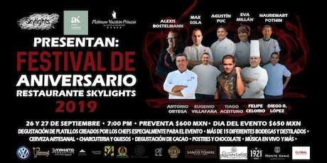 Festival Aniversario Skylights boletos