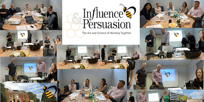 Influence and Persuasion Masterclass Workshop 7th November 2019