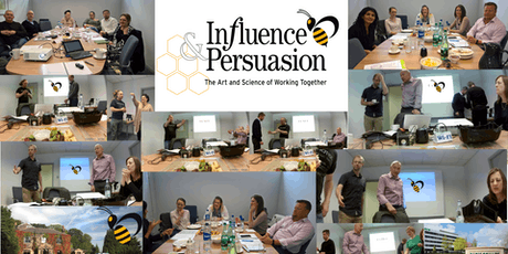 Influence and Persuasion Masterclass Workshop 7th November 2019 tickets