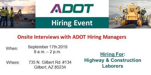 ADOT - Hiring Event