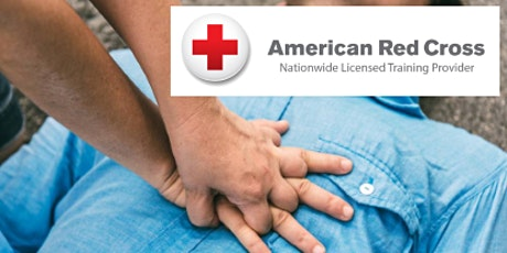 Red Cross First Aid/CPR/AED Class tickets